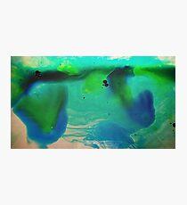 Deep Blue Sea Green 2 Photographic Print