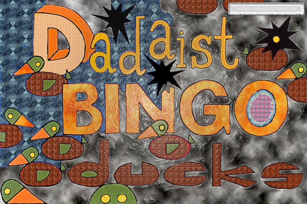 Dadaist Bingo Ducks by santakaoss