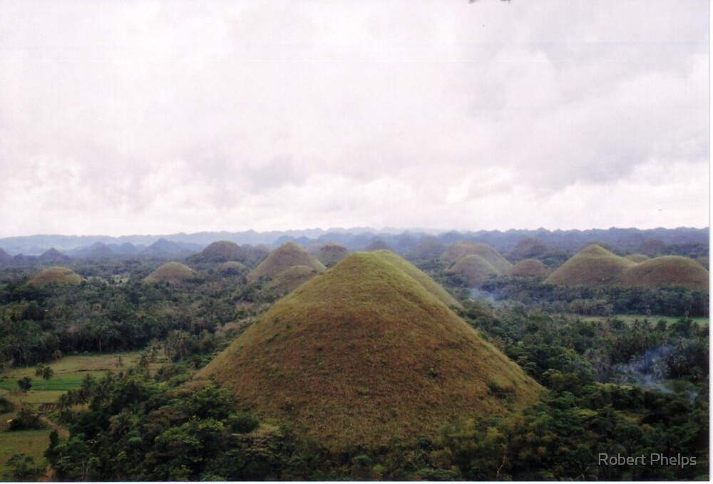 """Chocolate Hills"" - Bohol, Philippines by Robert Phelps"