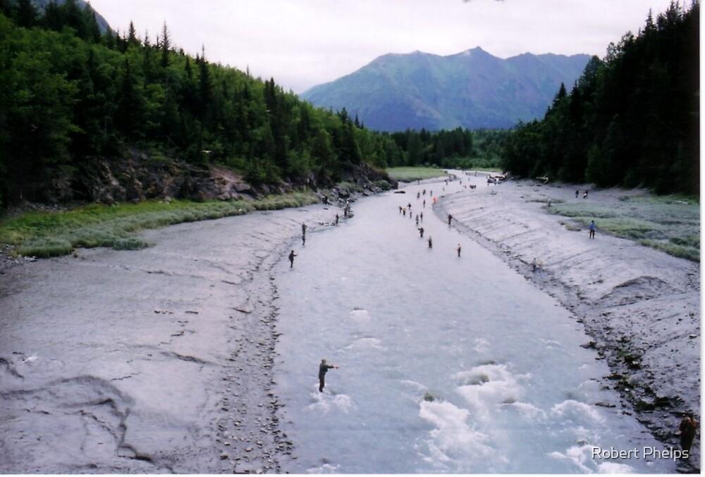 Fishing in Alaska by Robert Phelps