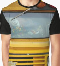 Screams On The Bus Go Round and Round Graphic T-Shirt