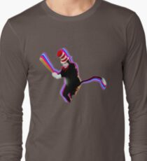Cat in the Hat with a Bat Long Sleeve T-Shirt