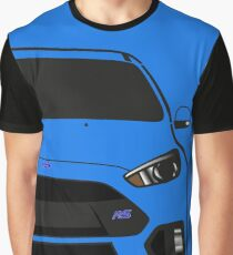 Focus RS Half Cut Graphic T-Shirt