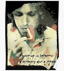 Tom Petty - Memory and a Dream Poster