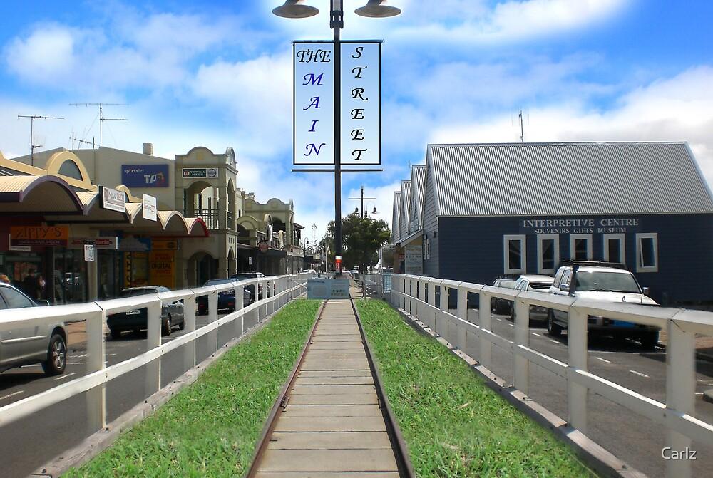 Jetty Down The Main Street by Carlz