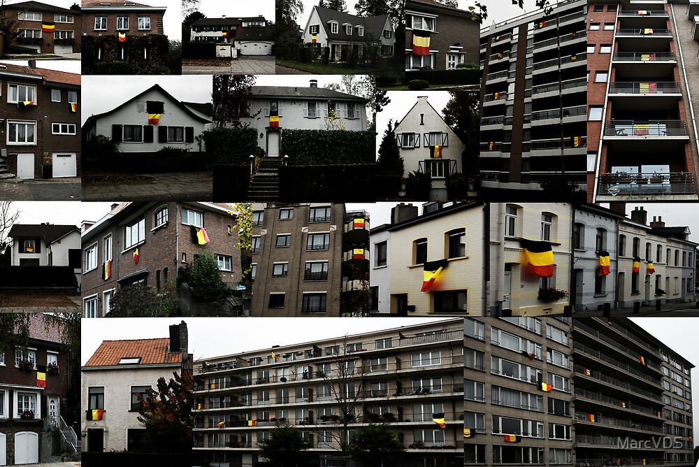 Tribute to Belgium by MarcVDS
