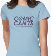 #ComicCants Unite! Womens Fitted T-Shirt
