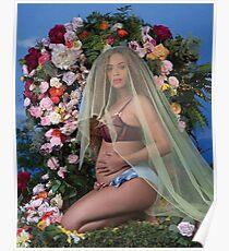Beyonce Pregnant Poster
