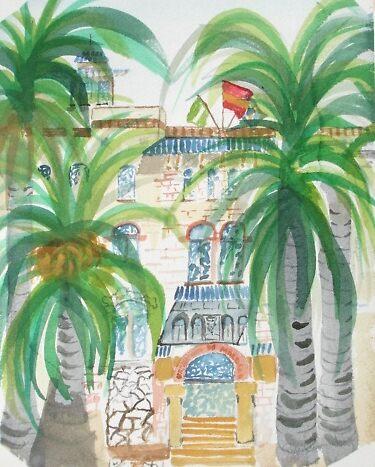 Málaga University sala de Expocioiónes by Roger Cummiskey