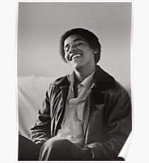 Young Barack Obama Poster