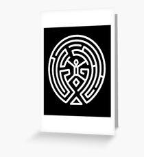 Westworld Maze Greeting Card