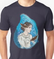 Virginia Woolf - waves and moth (Vagues et phalènes) Unisex T-Shirt