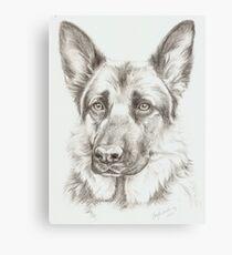 German Shepherd - Sadie Canvas Print