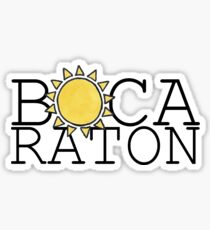 Boca Raton Sticker