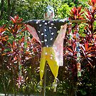 jungle scarecrow by Northcote Community  Gardens