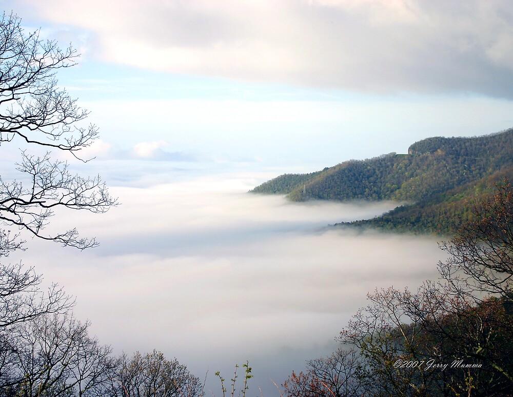 Mountain Fog by Jerry  Mumma