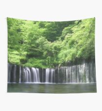 Forested Waterfall Wall Tapestry