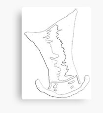 Tophat Seal Canvas Print