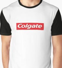 Supreme Colgate Parody Graphic T-Shirt