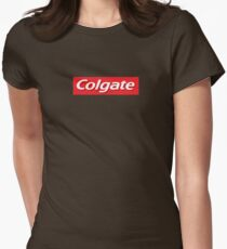 Supreme Colgate Parody Womens Fitted T-Shirt