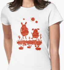 Prehistoric aliens Women's Fitted T-Shirt