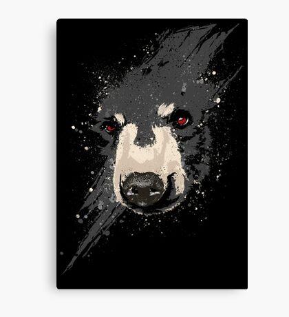 The Hidden Bear Canvas Print