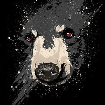 The Hidden Bear by bykai