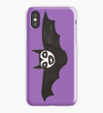 a happy bat iPhone Case