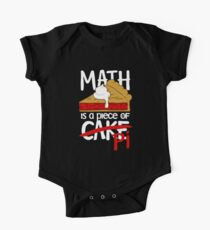 Math is a Piece of Pi Cake One Piece - Short Sleeve
