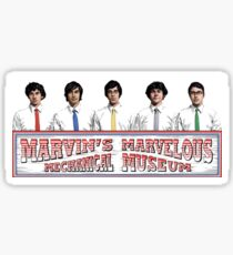 tally hall // marvin's marvelous mechanical museum sticker Sticker