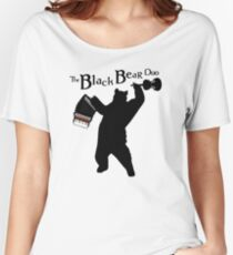 The Black Bear Duo Women's Relaxed Fit T-Shirt
