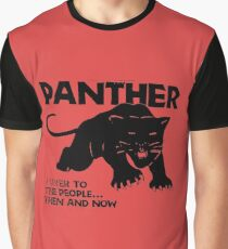 PANTHER Grafik T-Shirt