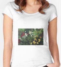 Rose Garden Women's Fitted Scoop T-Shirt
