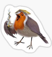 Robin bird (female) Sticker