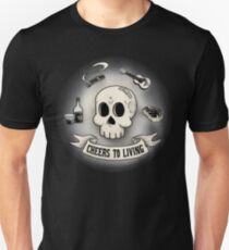 Cheers to Living - Whiskey Music Meat T Shirt T-Shirt