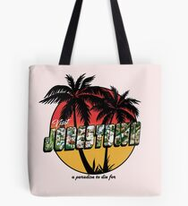 A Paradise to Die For Tote Bag