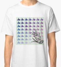 Green Birds Classic T-Shirt
