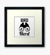 bird nerd Framed Print