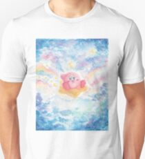 Kirby Watercolor Space Unisex T-Shirt