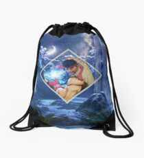 Tides of the Hado Drawstring Bag