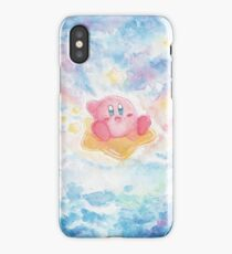 Kirby Watercolor Space iPhone Case/Skin