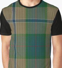 Chisholm Colonial Clan/Family Tartan Graphic T-Shirt