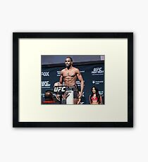UFC Corey Anderson Framed Print