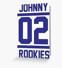 johnny 02 Greeting Card