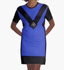 You + Royal Blue Graphic T-Shirt Dress