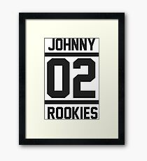 JOHNNY 02 Framed Print