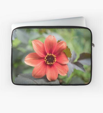 A Peachy Dahlia Laptop Sleeve