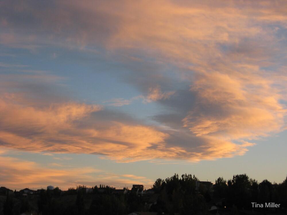 October Sunset by Tina Miller