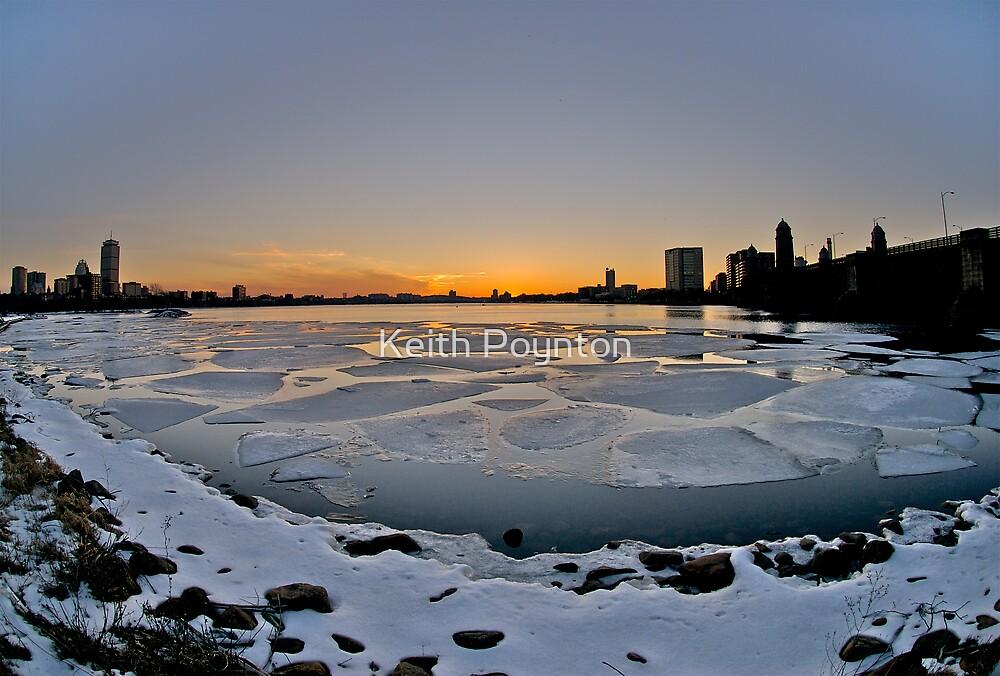 Boston on ice by Keith Poynton