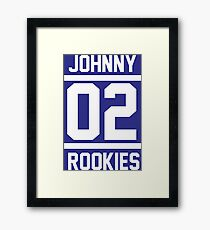JOHNNY 02 ROOKIES Framed Print